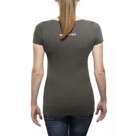 Bikester Classic Logo T-Shirt Dam grå